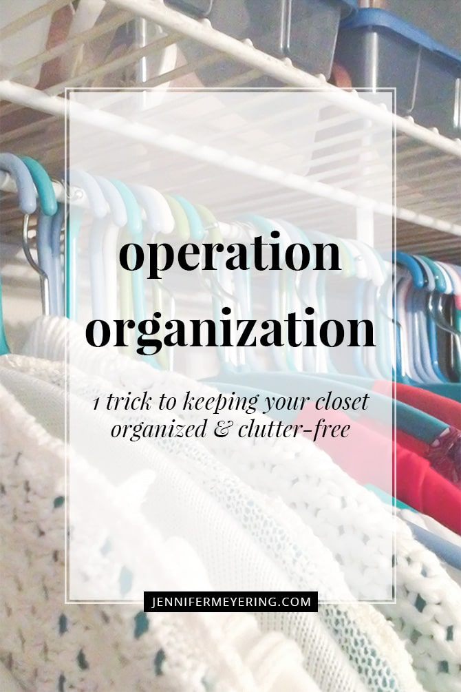 Operation Organization - JenniferMeyering.com