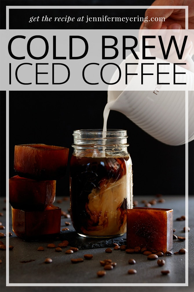 Easy Cold Brew Iced Coffee - JenniferMeyering.com