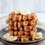 Brown Butter Banana Waffles