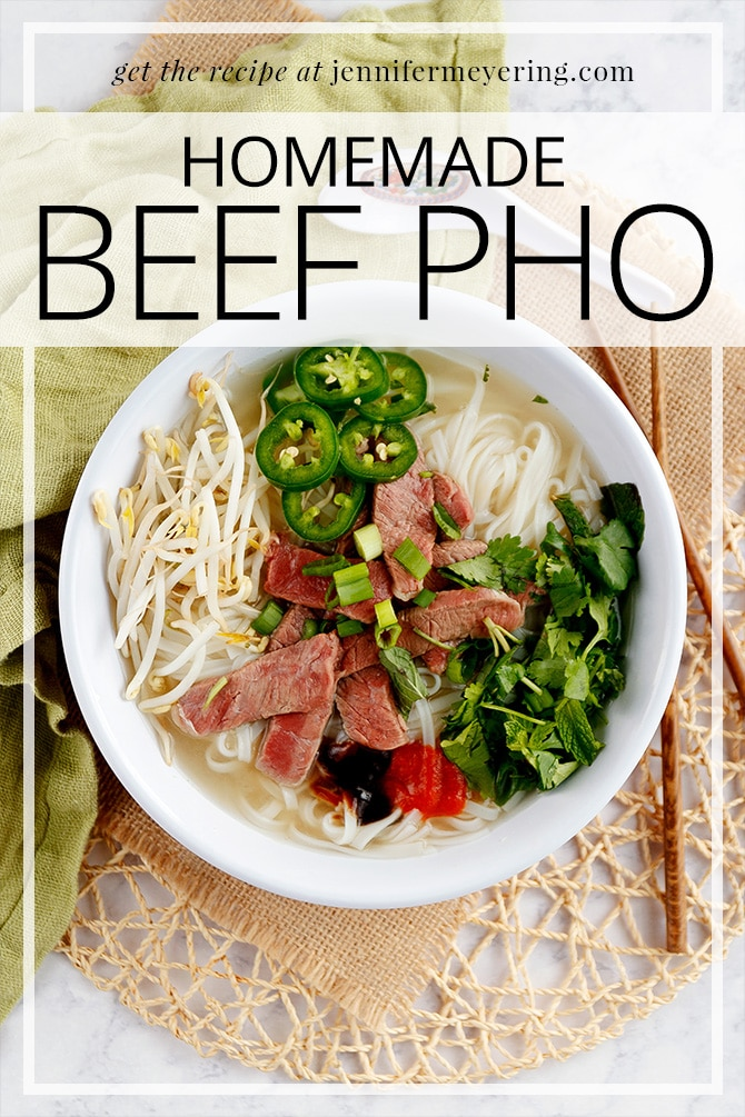 Beef Pho | JenniferMeyering.com