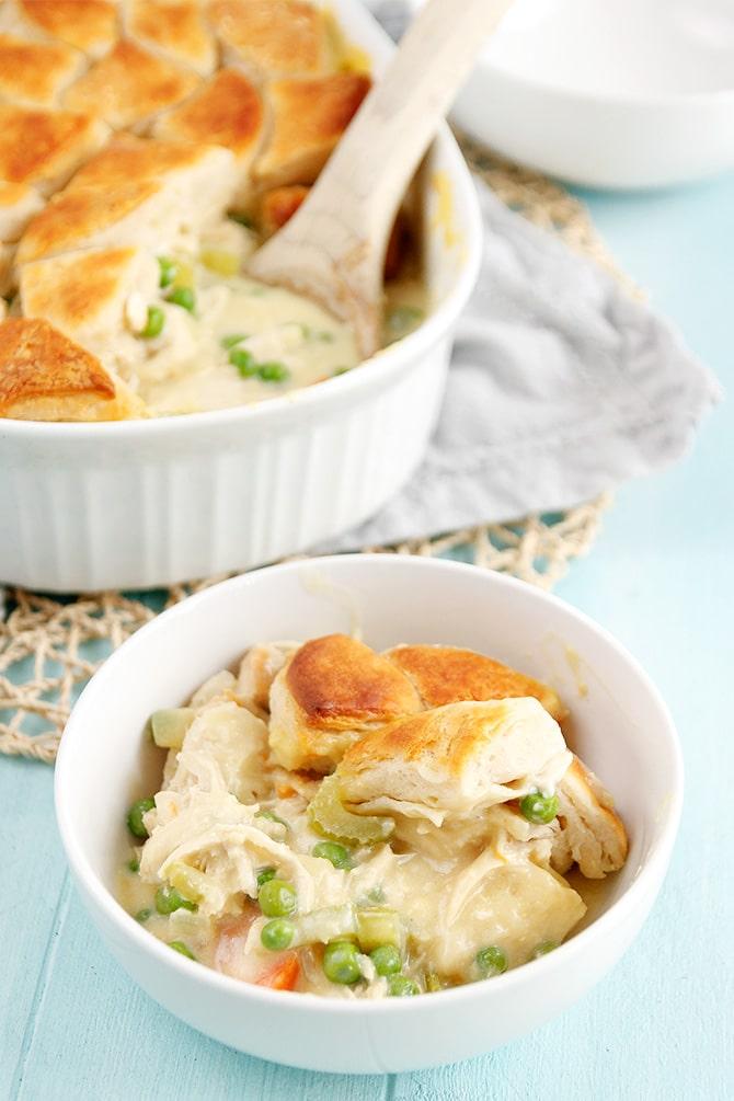 Biscuit Pot Pie