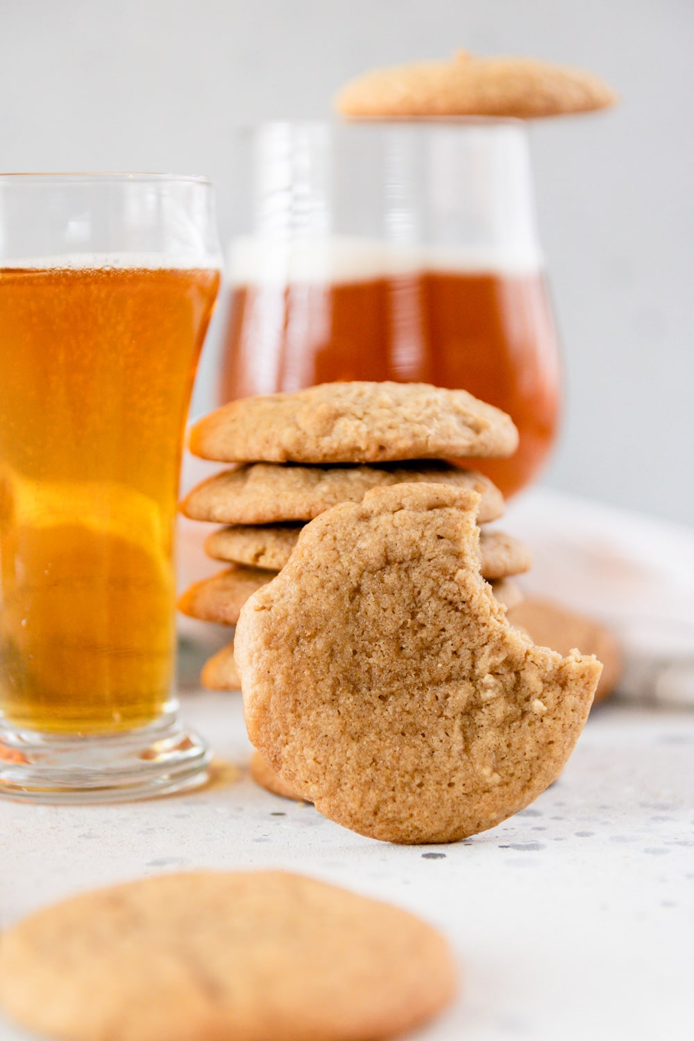 Honey Brown Ale Beer Cookies