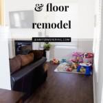 Kitchen Counter & Floor Remodel - JenniferMeyering.com