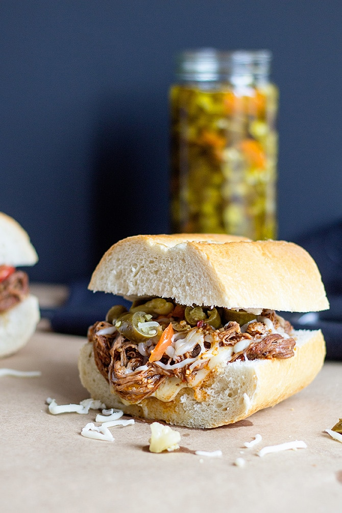 Slow Cooker Beef Sandwiches