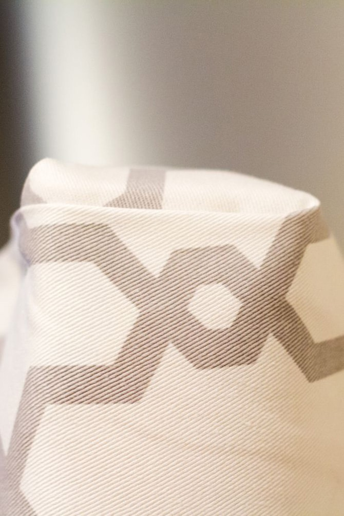 DIY Fabric Headboard