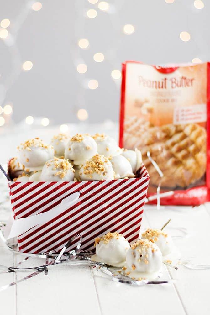 Peanut Butter Cookie Truffles
