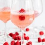 Raspberry Sorbet Champagne