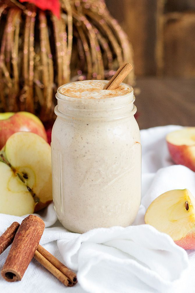 Spiced Apple Cider Protein Shake