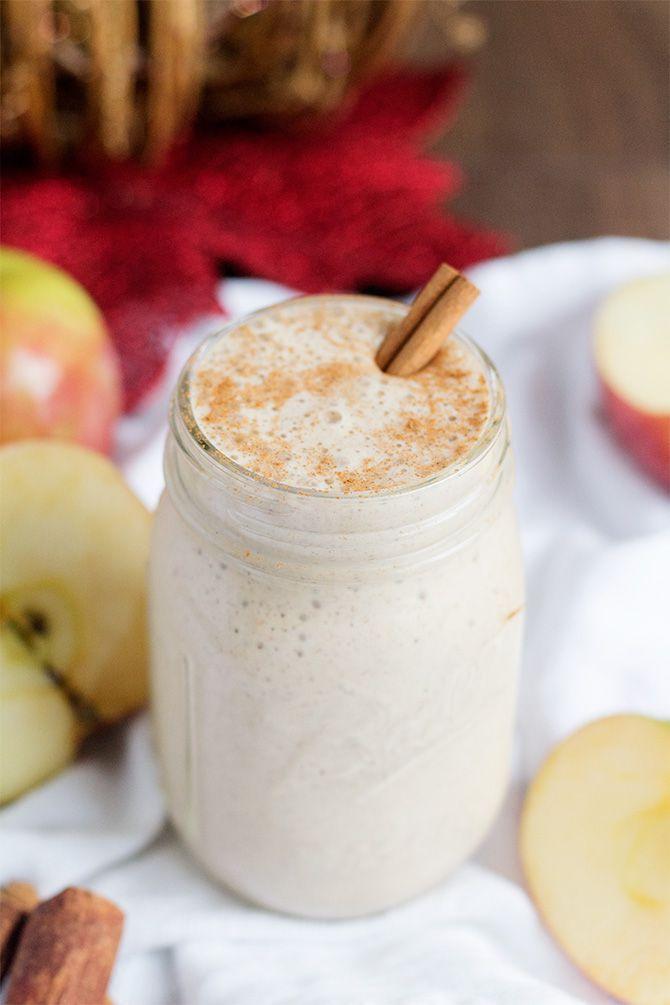 Spiced Apple Cider Smoothie