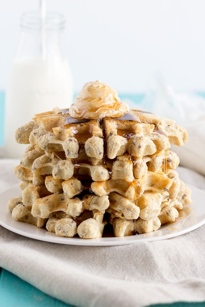 FIXATE Protein Waffles