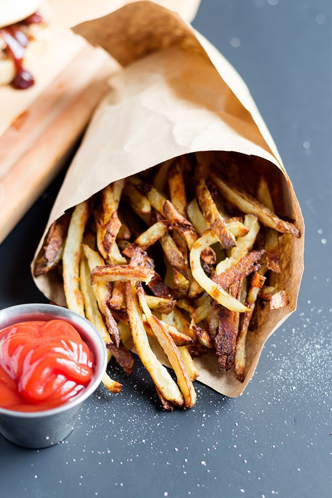 Oven Baked Crispy Fries