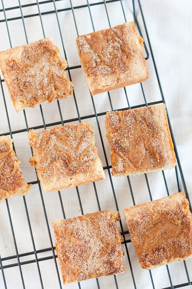 Dulce De Leche Snickerdoodle Bars {guest post} - Jennifer ...