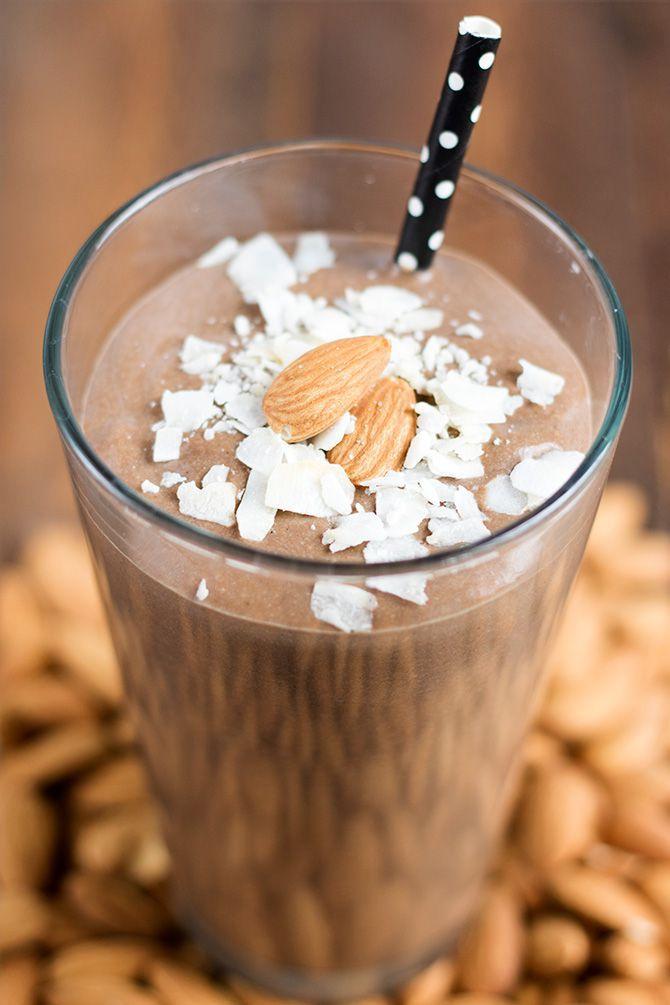 Almond Joy Protein Shake