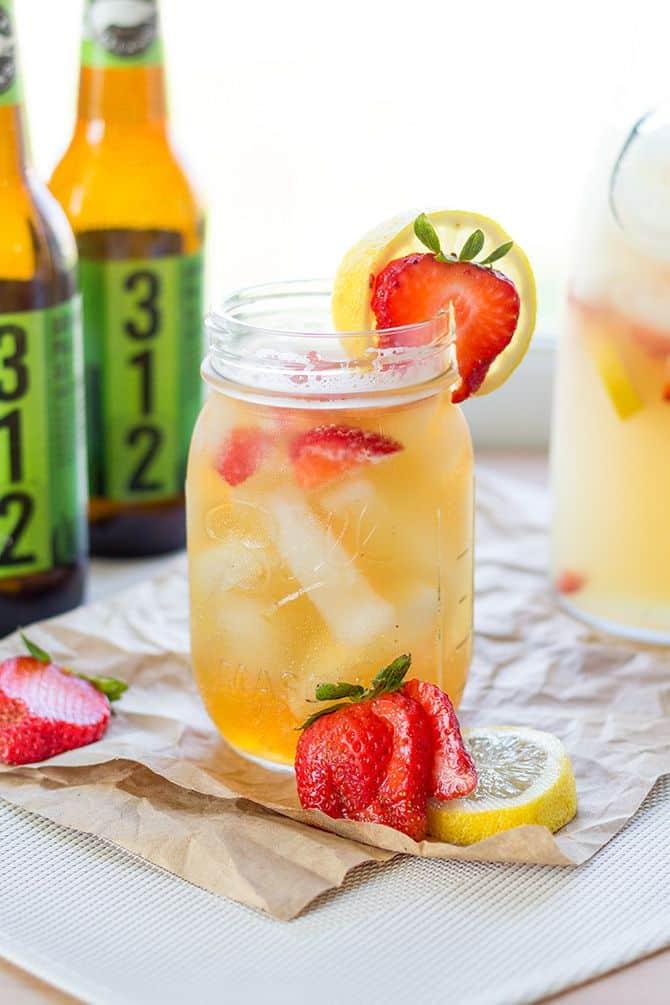 Strawberry Lemonade Beer