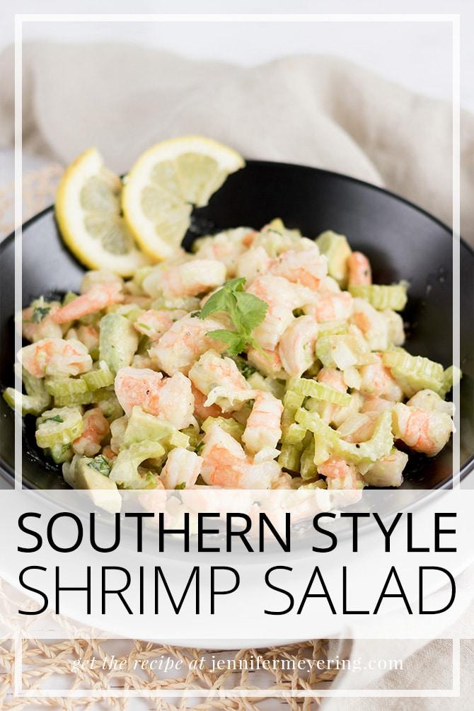 Southern Shrimp Salad - JenniferMeyering.com