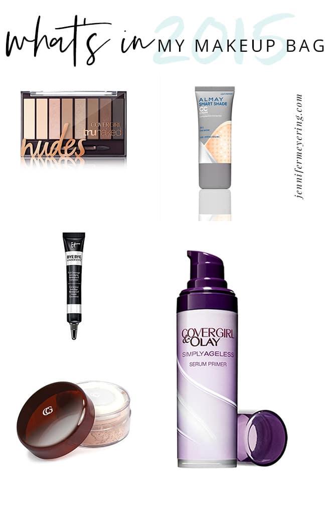 What's In My Makeup Bag - JenniferMeyering.com