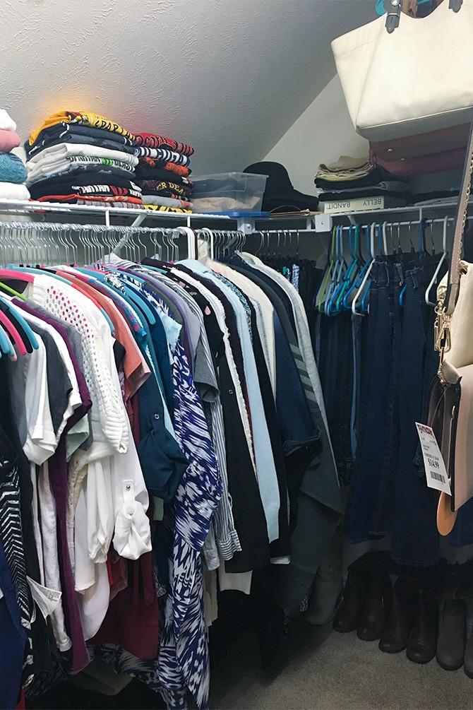 Closet Update & Refresh After