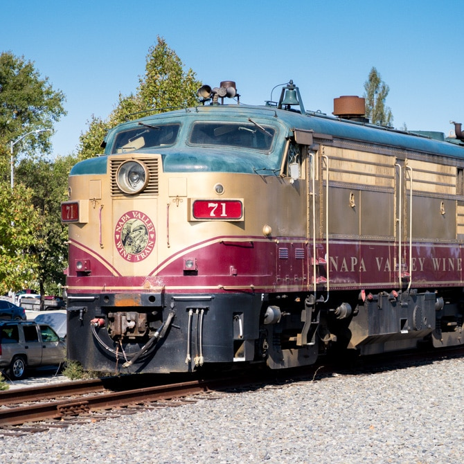 Travel Guide: Napa - Wine Train