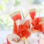 White Peach Watermelon Sangria