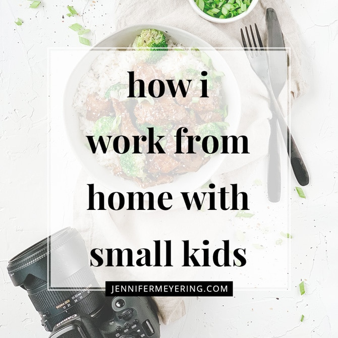 How I Work from Home with Small Kids
