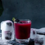 Smokey Blackberry Mezcal Cocktail