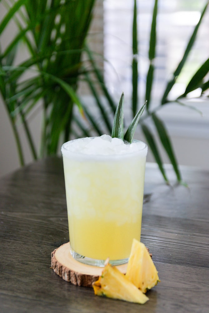 Pineapple Mezcal Margarita