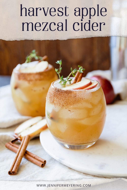 Harvest Apple Mezcal Cider - JenniferMeyering.com