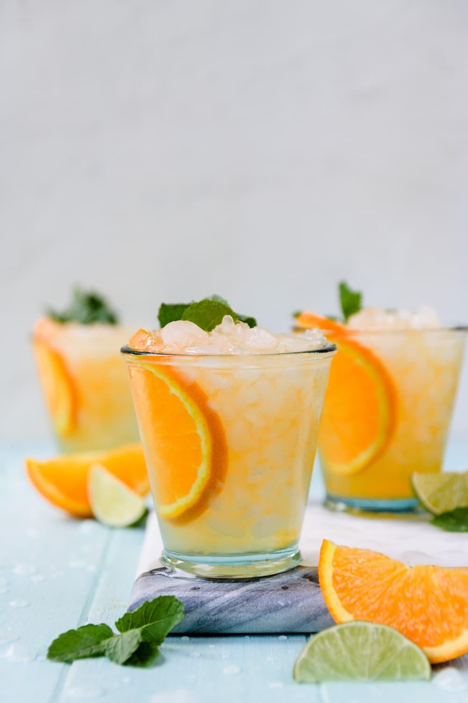 Sparkling Orange Margarita