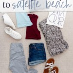 What I Packed for a Quick Trip to Satellite Beach - JenniferMeyering.com